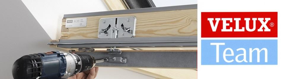 Oprava, servis a údržba střešních oken a výrobků Velux.